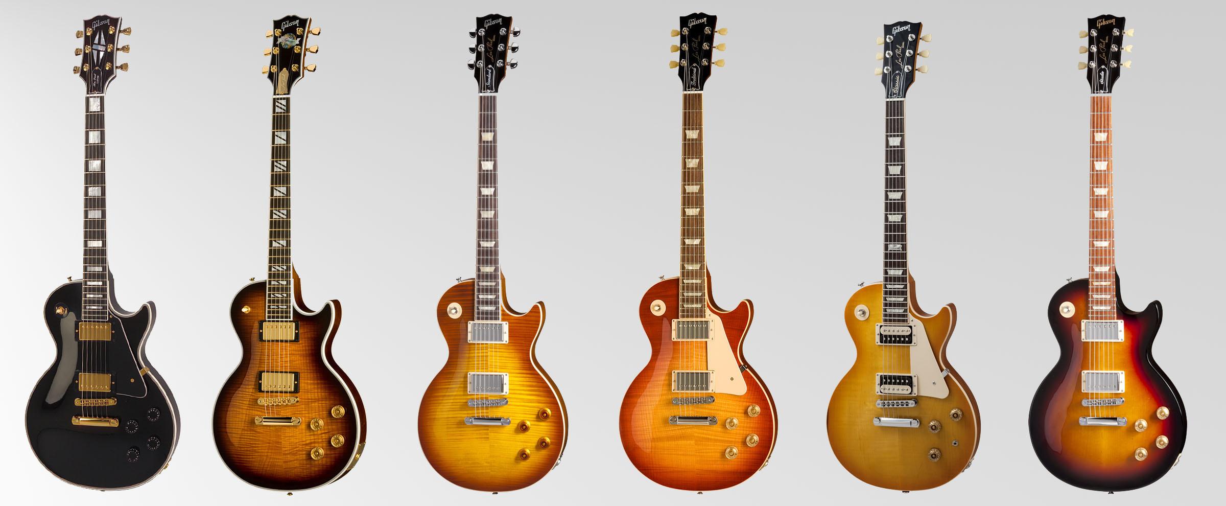 Gibson Guitars 1958 Les Paul Wiring Diagram Guitar Line Custom Supreme Standard Traditional Classic And Studio